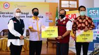 Bejo bersama garda terdepan Indonesia mengajak seluruh masyarakat untuk menebar semangat melawan covid-19 agar rantai penularan virus segera terputus.