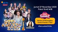 Saksikan Live Streaming SCTV Awards di Vidio, Malam Ini Pukul 19.45 WIB. (Sumber : Dok. vidio.com)