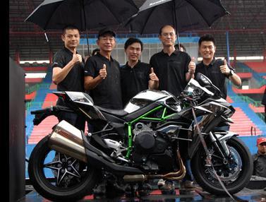 Kawasaki Ninja H2 dan H2R Diluncurkan