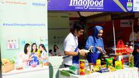 Indofood melalui masakapaya.com memeriahkan perayaan ulang tahun persib dengan menghadirkan demo masak bersama chef Arman dan istri pemain Persib.