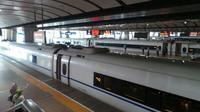 Meneropong Kecanggihan Kereta Super Cepat China. (Foto: Liputan6.com/Ilyas Istianur P)