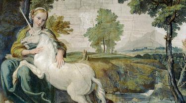 Ilustrasi Unicorn (Wikipedia/Public Domain)