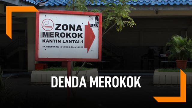 Aturan Baru Surabaya, Merokok Sembarangan Kena Denda