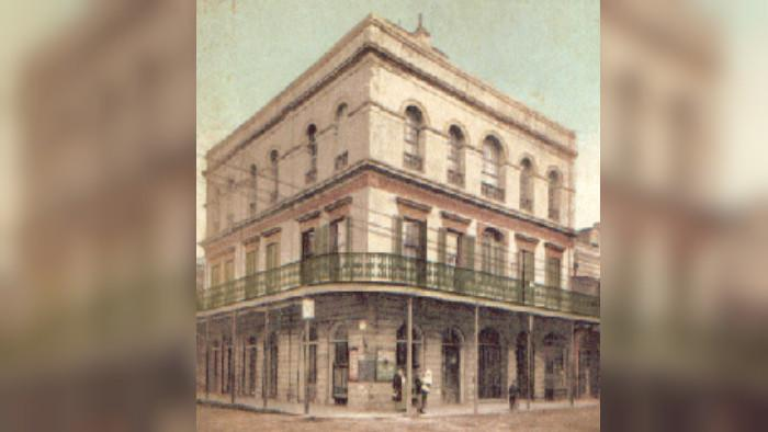 LaLaurie Mansion (Wikipedia/Public Domain)