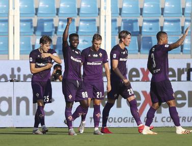 Fiorentina Menang Telak di Markas SPAL