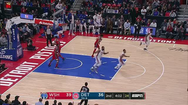 Berita video game recap NBA 2017-2018 antara Washington Wizards melawan Detroit Pistons dengan skor 122-112.
