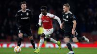 Winger muda Arsenal, Bukayo Saka (Adrian DENNIS / AFP)