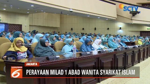 Wanita Syarikat Islam rayakan ulang tahun 1 abad di Gedung Nusantara 5, DPR RI.