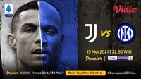 Streaming Serie A Pekan Ini di Vidio, Big Match : Juventus vs Inter Milan. (Sumber : dok. vidio.com)