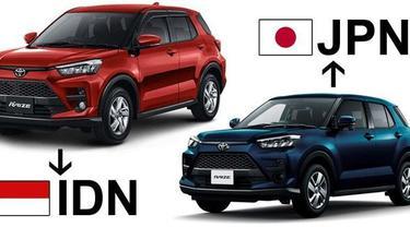 Toyota Raize tipe termurah dari Indonesia dan Jepang