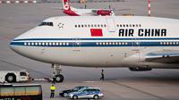 Insiden salah semprot di Bandara Fujian melibatkan pesawat AirChina (Wikipedia)