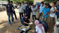 Polres Metro Bekasi Kota menggerebek klinik aborsi ilegal (Andry Haryanto/Lipuan6.com)