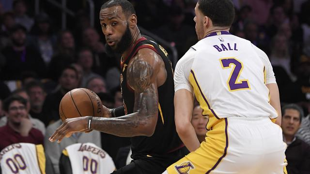 Lakers Vs Cleveland 2018 >> Nba Lakers Bantai Cavaliers Bola Liputan6 Com