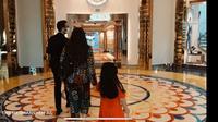 Ruang Kamar di Hotel Burj Al Arab di Dubai (Tangkapan Layar YouTube The Hermansyah A6/Muhammad Thoifur)