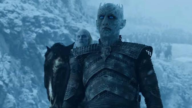 Night King Bikin Game of Thrones Season 8 Episode 3 Mencekam