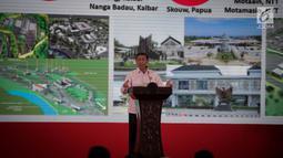 Menko Politik, Hukum, dan Keamanan (Polhukam), Wiranto, memberikan arahan dalam Rakornas Bidang Kewaspadaan Nasional di Jakarta, Rabu (27/3). Rakornas tersebut berlangsung dalam rangka pemantapan penyelenggaraan Pemilu 2019. (Liputan6.com/Faizal Fanani)