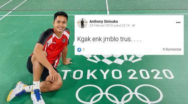 7 Status Facebook Lawas Anthony Ginting Saat Remaja Ini Kerap Galau Karena Asmara