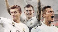 Pemain Real Madrid: Toni Kroos. (Bola.com/Dody Iryawan)