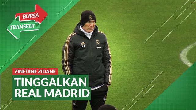 Berita Video Gagal Raih Trofi Musim Ini, Zinedine Zidane Mundur dari Real Madrid