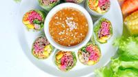 Salad Roll, menu favorit para konsumen Serasa Salad Bar. (dok. Instagram @se.rasa/ https://www.instagram.com/p/CK8rvs4Da-t/?igshid=o873j7gfwqjm/ Dinda Rizky)
