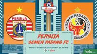 Shopee Liga 1 - Persija Jakarta Vs Semen Padang FC (Bola.com/Adreanus Titus)