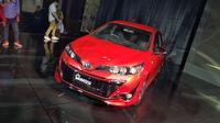 Harga New Toyota Yaris naik di banding pendahulunya (Herdi/Liputan6.com)