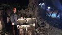 Kerusakan karena gempa Situbondo. (dok BNPB)