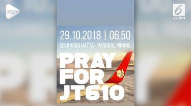 Para selebriti tanah air  berduka atas terjadinya kecelakaan pesawat Lion Air #JT 610. Mereka menyampaikan ucapan duka lewat media sosial
