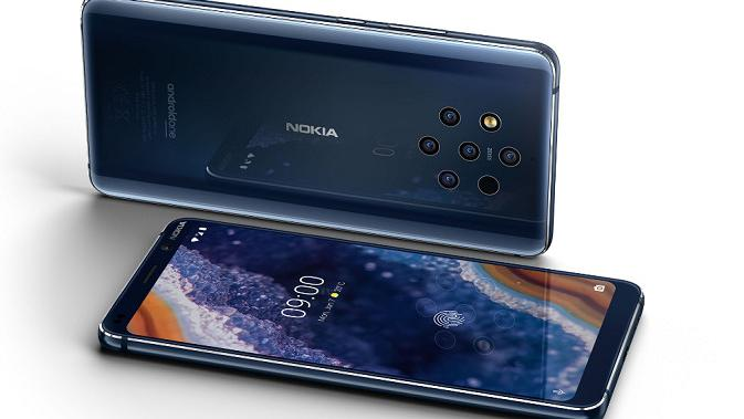 Tampilan Nokia 9 Pureview (sumber: Nokia)