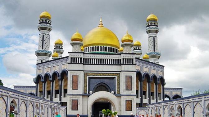 7 Masjid Berkubah Emas Di Dunia Yang Memesona Mata Citizen6