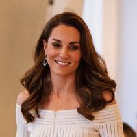 Gaun simple elegan ala Kate Middleton. (Foto: instagram.com/katemiddletonphotos)