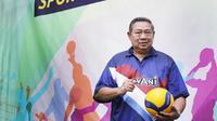Pembina tim bola voli Lavani Susilo Bambang Yudhoyono. (foto: https://www.instagram.com/lavani.forever)