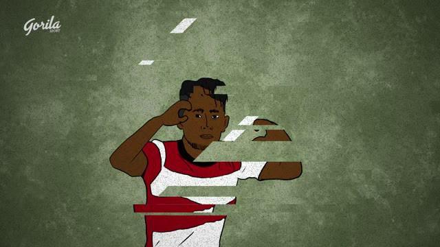 Berita video momen gol bintang Madura United, Andik Vermansah, di Shopee Liga 1 2019 yaitu saat mengalahkan Arema FC 1-0 pada 20 Juli 2019 versi Gorila Sport