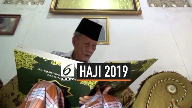 Polewali Mandar Sulawesi Barat berangkatkan calon haji tertua, seorang kakek berusia 101 tahun. kondisi fisik kakek tersebut masih bugar. Apa rahasianya?