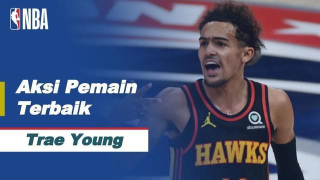 Berita video Trae Young jadi bintang kemenangan Atlanta Hawks saat melawan Washington Wizards, Sabtu (30/1/21)