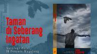 Poster sosialisasi launching buku Taman di Seberang Ingatan (foto: Liputan6.com/edhie prayitno ige)