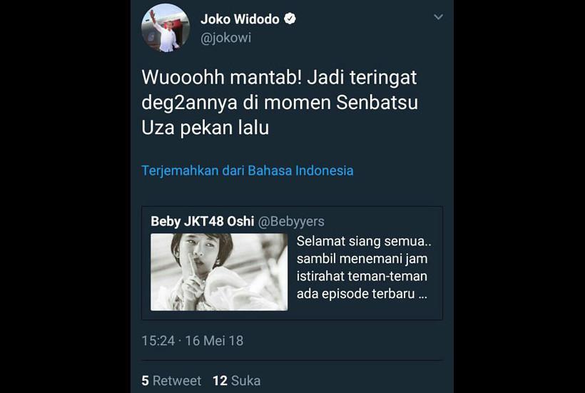 Admin Twitter Presiden Jokowi Diberhentikan Gara-Gara Cuitan