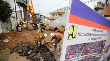 Pembangunan Sodetan Ciliwung Mulai Digarap