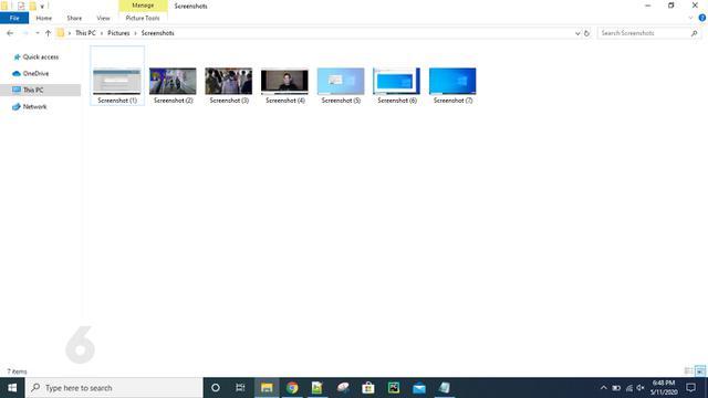 Screen Capture di Windows 10 Pakai Tombol Print Screen