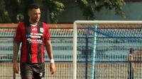 Pemain Persipura Jayapura, Marcel Sacramento. (Bola.com/Aditya Wany)