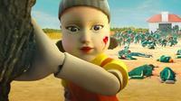 Boneka menyeramkan yang jadi momok di Squid Game ternyata terinspirasi dari ini. (Netflx)