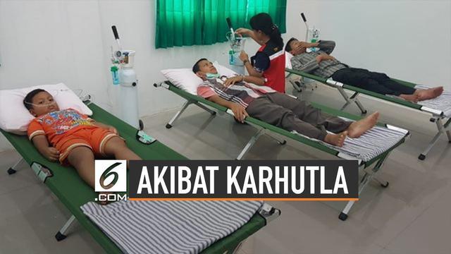 Unicef beri perhatian khusus terhadap bencana Karhutla di Indonesia. Unicef menyebut 10 juta anak dalam bahaya karena polusi udara.