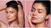 Kylie Jenner siap merilis enam produk perawatan wajah. (dok. Instagram @kyliejenner/https://www.instagram.com/p/BxS6-XyHSE8/, @kylieskin/https://www.instagram.com/p/BxasdWyBOcX/Putu Elmira)
