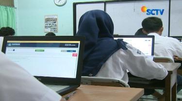 Pelaksanaan UNBK tingkat SMP hari kedua di DKI Jakarta berlangsung lancar. Tidak ada kendala teknis, tapi siswa keluhkan soal baru yang kembali muncul.