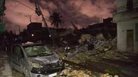 Kerusakan akibat tornado di Kuba (AFP Photo)