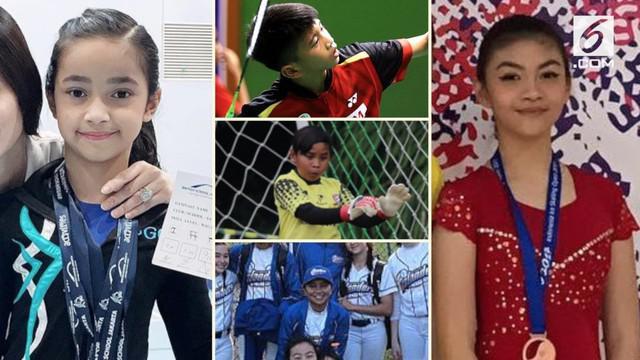 Banyak anak artis yang mengikuti jejak orangtuanya menjadi seorang publik figur. Berbeda dengan 5 anak ini yang menjauh dari dunia keartisan dan menjadi atlet.