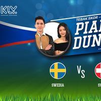 Swedia akan bertemput melawan Swiss untuk memperebutkan satu tempat di babak perempat final piala dunia 2018.