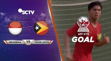 Berita video momen gol indah David Maulana dari free kick antar Timnas Indonesia U-18 sementara unggul atas Timor Leste U-18 pada laga Grup A Piala AFF U-18 2019, Kamis (8/8/2019).