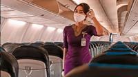 Aldha Refa, Istri Mendiang Pramugara Sriwijaya Air Okky Bisma Pensiun Jadi Pramugari? (dok. Instagram @aldharefa/https://www.instagram.com/p/CGxhlE-BHuc/Henry)