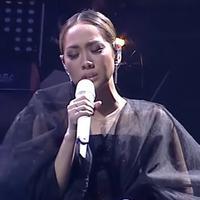 Bunga Citra Lestari (BCL) di Malam Puncak Puteri Indonesia 2020. (Youtube - Surya Citra Televisi)